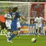 Goal di Pirlo in Italia - Ghana